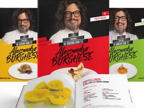 Alessandro Borghese Portami in Cucina con Te in edicola: piano dell'opera