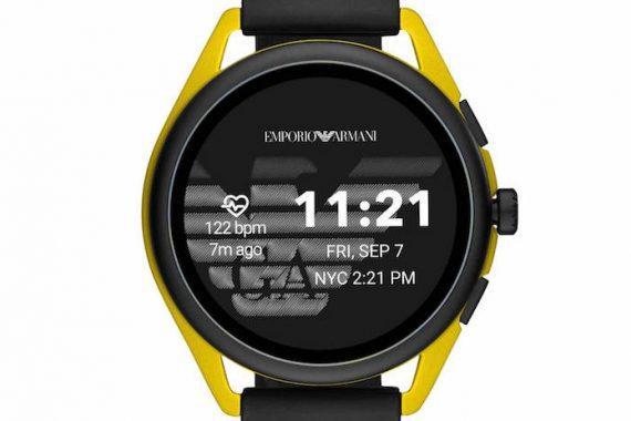 Emporio Armani Smartwatch 3 presentato ad IFA 2019