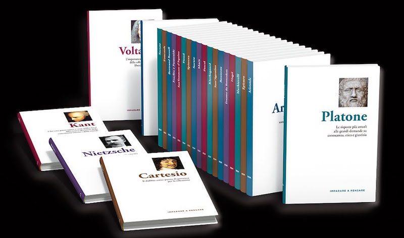 Imparare a Pensare in edicola: nuova collezione di libri di filosofia 2021