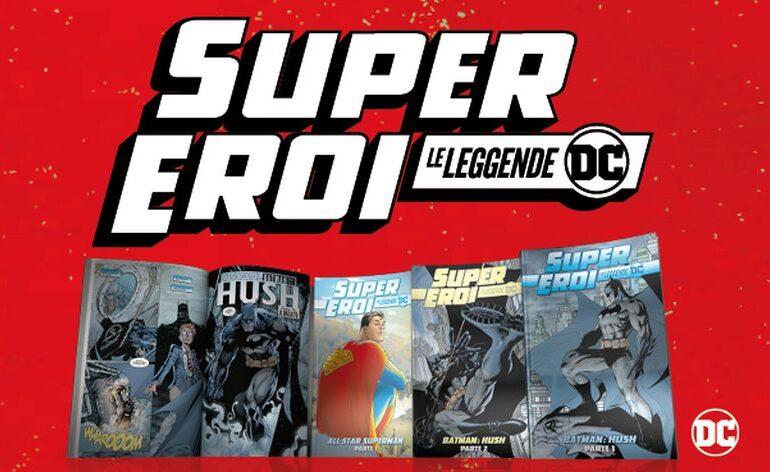 SuperEroi – Le leggende DC in edicola: piano dell'opera della collezione