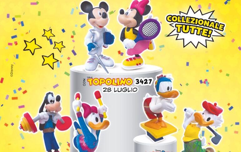 Topolino Sport Collection: statuette Disney per le Olimpiadi in edicola