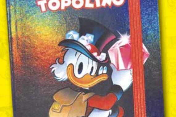 Agenda notebook di Zio Paperone: in edicola con Topolino