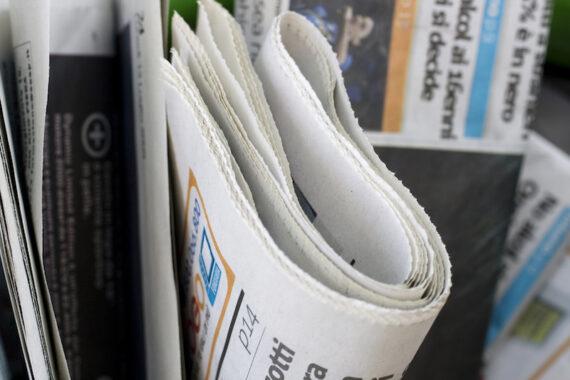 Prime pagine dei quotidiani in edicola di venerdì 23 luglio 2021