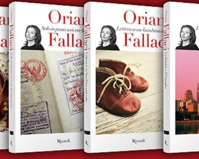 Oriana Fallaci in edicola: piano dell'opera della collezione di libri